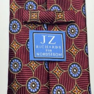 JZ Richards 100% silk necktie